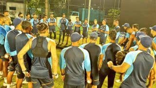 IND vs SL 2021: Shikhar Dhawan-Led Team India Attends First Practice Session Under Lights in Sri Lanka