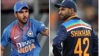 Ind vs SL: Shikhar Dhawan, Kuldeep Yadav And Manish Pandey, Players Who Would Look to Revive Their ODI Careers