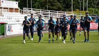 India vs england team india begins training in durham for warm up match against county select xi 4820665