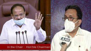 TMC MP शांतनु सेन पूरे मानसून सत्र से लिए राज्यसभा से निलंबित, आईटी मंत्री से कागजात छीनकर फाड़े थे
