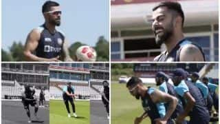 WATCH | Kohli & Co Have Fun During First Training Session in Durham