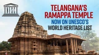 Ramappa Temple: 800-Year-Old Telangana's Ramappa Temple Made It To UNESCO's World Heritage Site | Watch Video