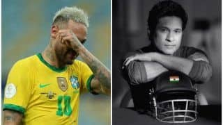 Sachin Tendulkar Consoles Heartbroken Neymar With a Motivating Tweet After Brazil Lose in Copa America 2021 Final