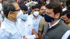 Maharashtra Flood: बाढ़ प्रभावित कोल्हापुर जिले में 'एक साथ' पहुंचे मुख्यमंत्री उद्धव ठाकरे और विपक्ष के नेता देवेंद्र फडणवीस