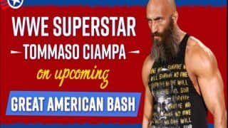 We Want the Title, We Want The Respect: WWE Superstar Tommaso Ciampa