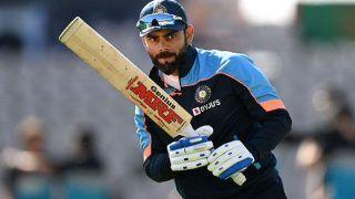 Watch Video: टीम इंडिया खेल रही थी प्रैक्टिस मैच वहीं नेट्स में अभ्यास कर रहे थे कप्तान Virat Kohli