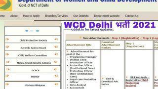 WCD Delhi Recruitment 2021: दिल्ली सरकार में इन पदों पर आवेदन करने की कल है आखिरी डेट, जल्द करें अप्लाई, 34000 मिलेगी सैलरी