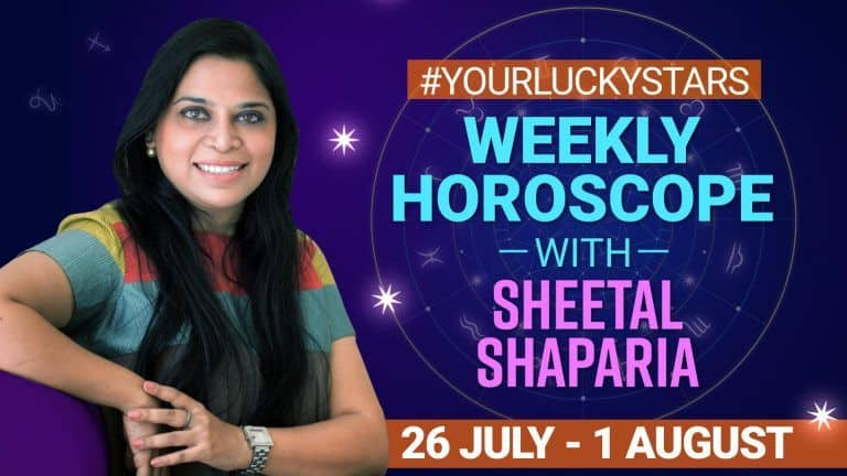 Weekly Horoscope, July 26 to August 1 2021: Check Predictions For All Zodiac Signs  Watch Video #YourLuckyStars #Astrology