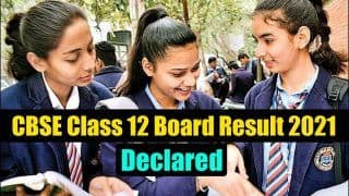 CBSE Class 12 Result 2021: Students Can Check it on cbse.nic.in, Digilocker, UMANG App. More Details Here