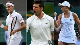 Wimbledon 2021 HIGHLIGHTS, Day 7 Results: Federer Beats Sonego to Become Oldest Quarterfinalist; Djokovic, Barty, Kerber Advance to Last-8