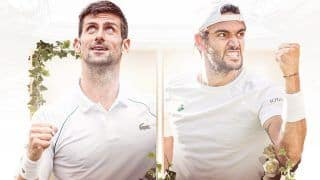 Wimbledon 2021 HIGHLIGHTS AND RESULTS, FINAL Updates: Djokovic Beats Berrettini to Clinch 20th Grand Slam Title, Equals Federer And Nadal
