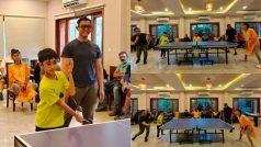 तलाक के बाद फिर साथ दिखे Aamir Khan-Kiran Rao, बेटे आजाद के साथ लद्दाख में खेला टेबल टेनिस