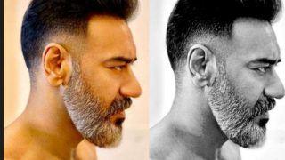 अजय देवगन का सफेद दाढ़ी वाला लुक हुआ वायरल, फिल्म 'थैंक गॉड' में दिखेगा ये Dapper Look