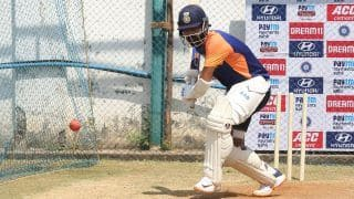 India vs england vice captain ajinkya rahane returns to the nets chances of playing in nottingham test increased 4844748