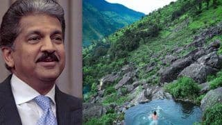Exotic Location in Uttarakhand With 'Natural Pool' Mesmerises Anand Mahindra. See Pics