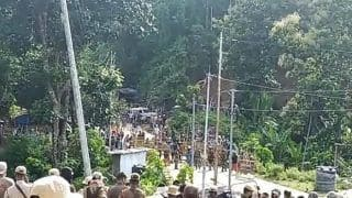 Assam-Mizoram Border Dispute: Tensions Escalate as 4 Mizoram-bound Trucks Vandalised in Cachar