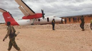 Plane Crash-lands in Somalia with Over 40 Passengers Onboard