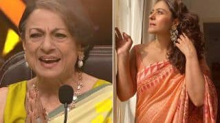 Super Dancer 4: Tanuja Gets Teary-Eyed With Kajol's Emotional Video Message | Watch