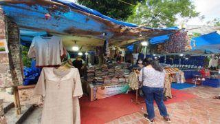 दिल्ली हाट में कारीगरों पर दोहरी मार, कोरोना समेत अन्य कारणों से पर्यटक भी नदारद