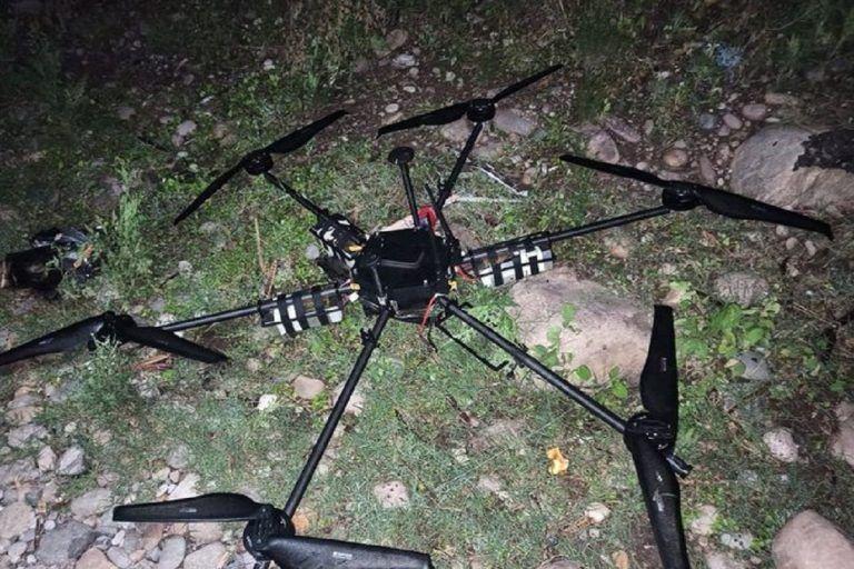 Drone Shot Down in J&K's Kanachak, Explosive Material Recovered