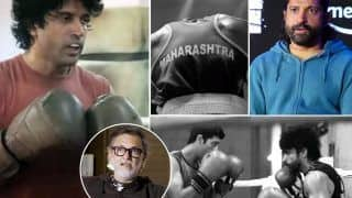Toofaan BTS Boxing Training Video: Netizens Are Impressed With Farhan Akhtar's Hardcore Training, Calls Him 'Perfectionist'