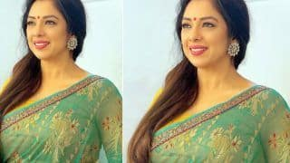Anupamaa Star Rupali Ganguly Is a Vision To Behold In Gorgeous Sheer Saree | See Pic