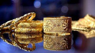Aaj ke sone ka bhav: निचले स्तरों पर खरीदारी बढ़ी, सोने-चांदी में बढ़त, जानिए- अब कहां पर पहुंचे 10 ग्राम सोने के रेट?