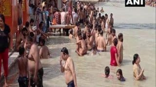 After Kempty Falls Fiasco, Devotees Seen Violating Coronavirus Protocol in Haridwar, Say 'Not Scared of Covid'