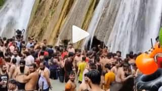 Only 50 Tourists At A Time: After Viral Video of Maskless Crowd at Mussoorie's Kempty Falls Number of Visitors Capped. Check New Rules