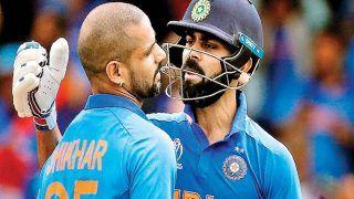 ICC ODI Rankings: Shikhar Dhawan ने लगाई वनडे रैंकिंग में छलांग, जानिए Virat Kohli का कौन-सा स्थान?
