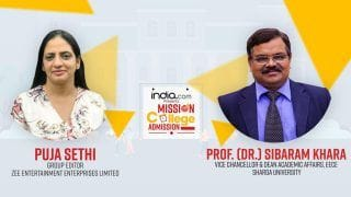 Mission College Admission: Step Towards Making Admissions Trouble-Free | Puja Sethi In Conversation With Sibaram Khara, Sharda University