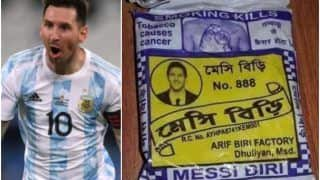 Messi Biri: Lionel Messi's Photo on Beedi Packet Goes Viral, Users Call it 'His First Indian Endorsement' | See Memes