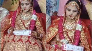 Viral Video: Groom's Friends Give Embarrassing Wedding Gift to Bride As a Joke, She Angrily Throws it Away | Watch