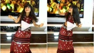 Little Girl Dances Adorably to Kriti Sanon's Mimi Song 'Param Sundari', Delights The Internet   Watch