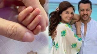 Dia Mirza - Vaibhav Rekhi Welcome Baby Boy Avyaan Azaad Rekhi, Share He Was Premature - See First Pic