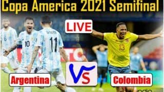 Match Highlights Argentina vs Colombia Copa America 2021 Semifinal Updates: Emiliano Martinez the Hero as Argentina beat Colombia 3-2 on Penalties to Enter the Final