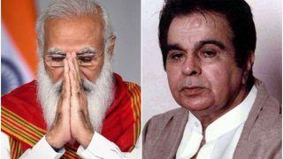 Dilip Kumar Dies at 98: PM Narendra Modi Remembers The 'Cinematic Legend' on Twitter