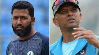 Rahul Dravid Shouldn't Push Himself to Become India's Head Coach: Wasim Jaffer
