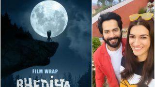 Varun Dhawan, Kriti Sanon Wrap Up Shooting For Bhediya As They Release New Motion Poster