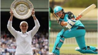 Did You Know: Wimbledon Champion Ash Barty Was Once a Cricketer, Played in WBBL For Brisbane Heat