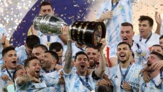India's Kolkata Goes Crazy After Lionel Messi's Argentina Wins Copa America Trophy