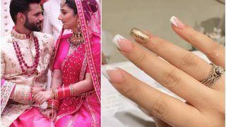 Ahead of Rahul Vaidya-Disha Parmar Wedding, Bride-to-be Flaunts Diamond Engagement Ring - Watch