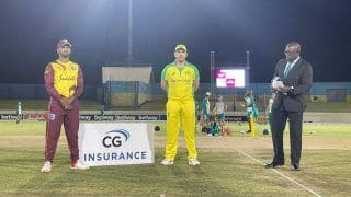 Match Highlights West Indies vs Australia 3rd T20I: Chris Gayle's Fifty Guides WI to 6-Wicket Win, Hosts Take Impregnable Series Lead
