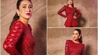 Karisma Kapoor's Red Sharara From Indian Idol 12 Episode is Worth Rs 1,09,000 - You Like?