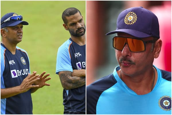 Shikhar Dhawan explains the difference in coaching styles of Rahul Dravid and Ravi Shastri.