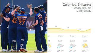 Colombo Weather Forecast For Sri Lanka vs India, 2nd ODI, 20th July: Will Rain Play Killjoy?