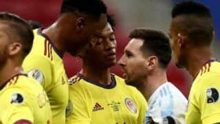 Lionel Messi is a Great Person; Will Always Respect Him, Says Yerry Mina Despite Copa America 2021 Clash