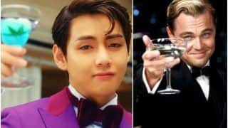 BTS V Reminds ARMY of Leonardo DiCaprio After His 'Classic' Cameo In Peakboy's Gyopo Hairstyle Music Video