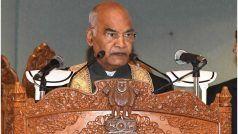 जब कश्मीर की भाषा में बोलने लगे राष्ट्रपति रामनाथ कोविंद, कश्मीरी छात्रों ने खुश होकर बजाईं तालियाँ