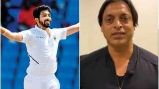 If Jasprit Bumrah Plays Every Match, He Will Break in One Year: Shoaib Akhtar